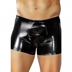 MALE POWER BOXER EFECTO LATEX NEGRO
