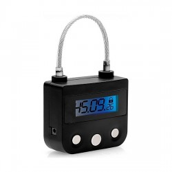THE KEY HOLDER CERRADURA CON RELOJ