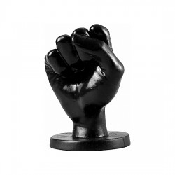 ALL BLACK FIST 14CM NEGRO