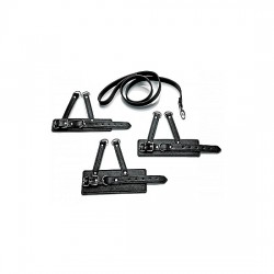 3 PIECE BALL STRETCHER TRAINING SET NEGRO