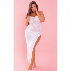 TAKE THE HEAT VESTIDO PAREO BLANCO