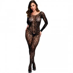 LONGSLEEVE CROTCHLESS BODYSTOCKING MANGA LARGA