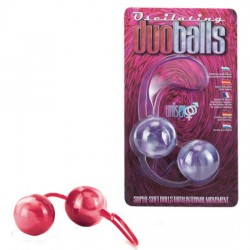 BOLAS DOBLES MARBILIZED ROJAS