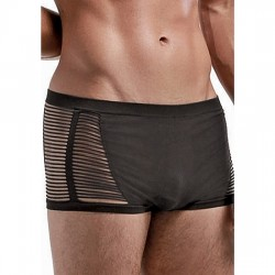 SEAMLESS OPEN BLIND SHORT BLACK ONE SIZE