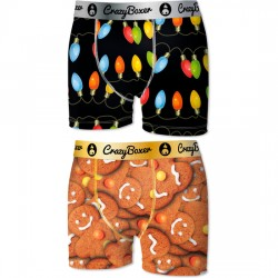 SET 2 BOXER CRAZY INFANTIL BOXER FUN