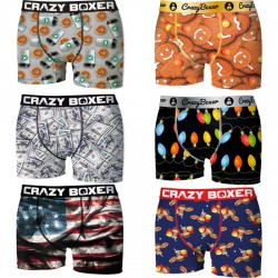 PACK 6PCS SURTIDO CRAZY BOXER