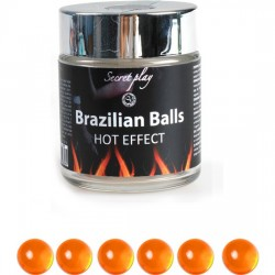 SECRET PLAY TARRO 6 BRAZILIAN BALLS EFECTO CALOR