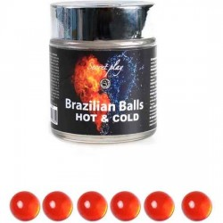 SECRET PLAY TARRO 6 BRAZILIAN BALLS FRiO CALOR