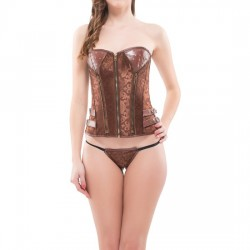 INTIMAX CORSET DULCIE MARRON