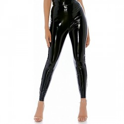 NIGHT RIDE PANTALoN VINILO NEGRO