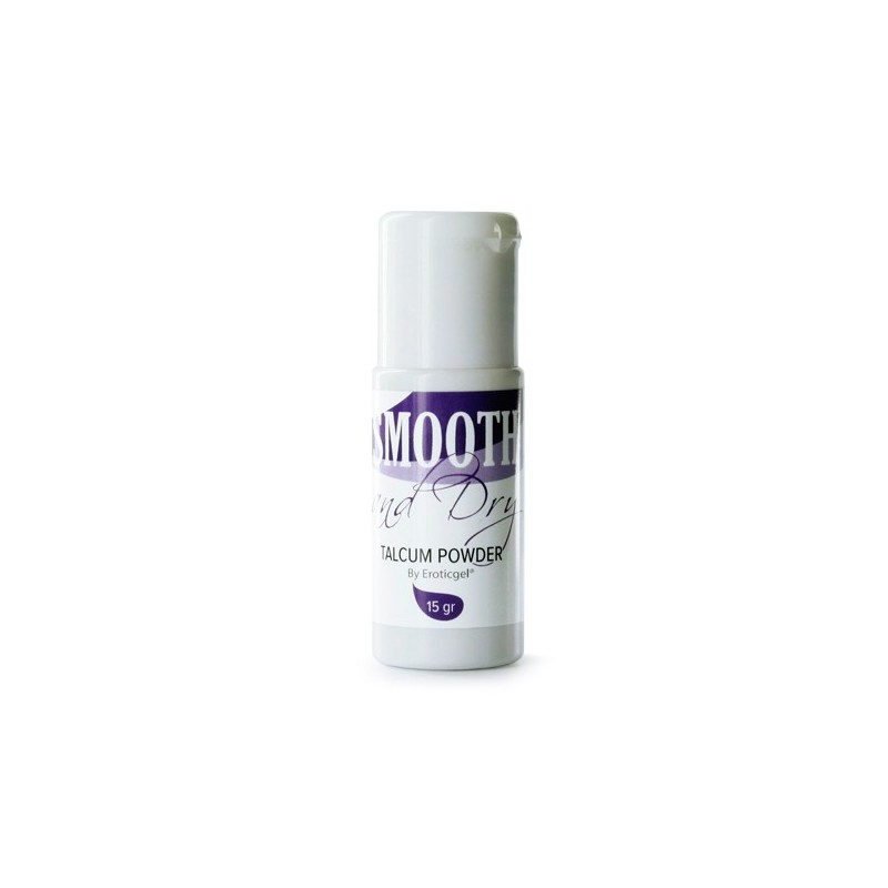 EROTICGEL SMOOTH AND DRY TALCO RECUPERADOR