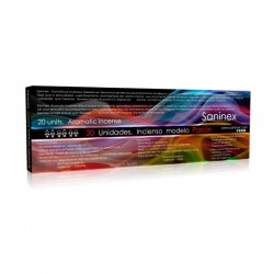 SANINEX INCIENSO AROMATICO PASION PHEROMONE 20 STICKS
