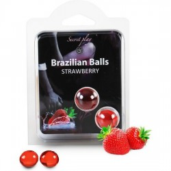 SECRET PLAY SET 2 BRAZILIAN BALLS AROMA FRESA