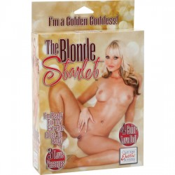 THE BLONDE STARLET MUNECA HINCHABLE