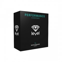 PRESERVATIVOS LEVEL PERFORMANCE CONDOMS 5UDS