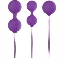 LUXE O WEIGHTED BOLAS KEGEL MORADO