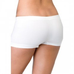 LEG AVENUE BRAGUITA SHORT DE COLOR BLANCO